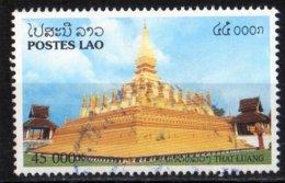 Laos 1998 Temple That Luang Vientiane / Ethnology / Ethnologie / Religion / Boudhisme  45000 Kip Used Oblitéré N° 1325 - Laos