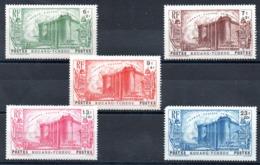KOUANG-TCHEOU - YT N° 120 à 124 - Neufs * - MH - Cote: 60,00 € - Kouang-Tchéou (1906-1945)