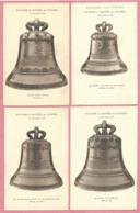 67 - SCHILTIGHEIM - 4 Cartes - Les 4 Cloches De L' église Catholique - Baptème Des Cloches 31/12/1930 - Schiltigheim