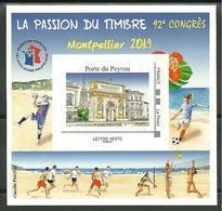 Bloc FFAP Montpellier 2019  92e Congrés  Sport Collectif - FFAP