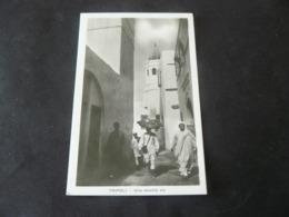 LIBYA  _  TRIPOLI .... AN  ANCIENT  LITTLE  STREET ....    //  TRIPOLI  :  UNA VECCHIA  VIA  ...CARTOLINA NUOVA - Libia