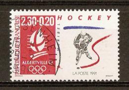 1991 - Albertville'92 (Hockey) - N°2677 Càd 1991 - France