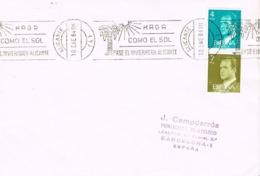 34588. Carta ALICANTE 1984. Rodillo Especial Turismo, Haga Como El Sol - 1931-Hoy: 2ª República - ... Juan Carlos I