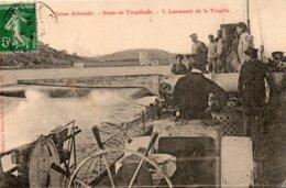 Usines  Schneider -   Essais  De  Torpilleurs -   3  ,lancement  De  La  Torpille - Autres Communes