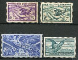 15550 NOUVELLE CALEDONIE PA31, 39, 53, 54 **/(*)  1938-1946   TB - Poste Aérienne