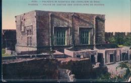 POSTAL GRECIA - RODI - PALAZZIO DI GIUSTIZIA DEI CAVALIERI DI RODI - RHODES - Grecia