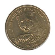 07001 - MEDAILLE TOURISTIQUE MONNAIE DE PARIS 07 - Peaugres 35 Ans - 2009 - Monnaie De Paris