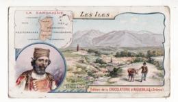 Chromo  CHOCOLAT AIGUEBELLE    Les Iles    La Sardaigne - Aiguebelle