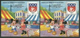 Blocs Marigny 1997  DISNEY  MICKEY - Sheetlets