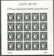 Bloc Cérès Noir Du Salon Paris 2019 - Sheetlets