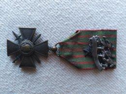 Croix De Guerre Avec Broche - 1914-18