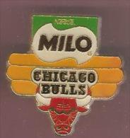 40895-Pin's.Basketball.Ne Stlé.Milo.Chicago Bulls - Basketbal