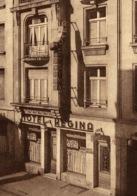 Cpa LUXEMBOURG - Gare, Hotel-Restaurant REGINA, Rue Joseph Junck, BIERES BOFFERDING - Luxemburg - Stad