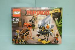 Lego Ninjago - L'ATTAQUE DES PIRANHAS Piranha Chase Réf. 70629 Neuf En Boîte - Lego