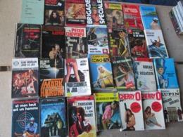 LOT DE 28 LIVRES POLICIERS - Boeken, Tijdschriften, Stripverhalen