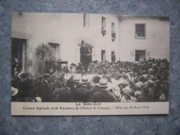 LIMOGES - LE MAS ELOI - COLONIE - FETES DU 14 AOUT 1921 - Limoges