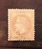 Empire Lauré No 28,'10 C Bistre  Obl Legere Effigie Dégagée,  TB - 1863-1870 Napoleone III Con Gli Allori