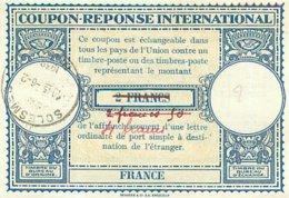 France  -  Coupon Reponse International   , 2 Francs   P602 - Reply Coupons