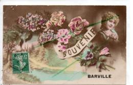 BARVILLE SOUVENIR CARTE FANTAISIE - Alencon