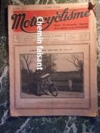 MOTOCYCLISME N°56 Du 15/08/1921 Harley MONET-GOYON NER-A-CAR HAWKER CEDOS - Motorrad