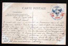 """02, Vignette """"Je Suis De La Classe"""" Au Verso D'une Carte De Trucy - Altri Comuni"""