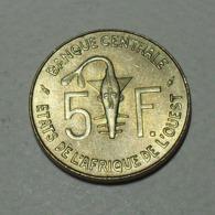 1979 - Afrique De L'Ouest - West African States - BCEAO - 5 FRANCS - KM 2a - Monete