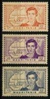 MAURITANIE - YT 95 à 97 ** - SERIE COMPLETE DE 3 TIMBRES NEUFS ** - Unused Stamps