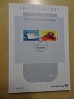 Bund ETB Ersttagsblätter Jahrgang 2010 Komplett (5629) - BRD