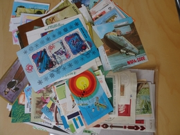 Alle Welt 222 Verschiedene Blocks + KB (10464) - Briefmarken