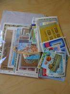 Alle Welt 222 Verschiedene Blocks + KB (10469) - Briefmarken
