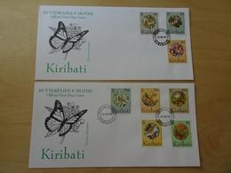 Kiribati Michel 672/89 FDC Schmetterlinge/Butterflys (11747) - Kiribati (1979-...)