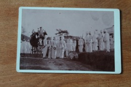 Photo Indochine Lang Son 1908 Colonial Enterrement  De Mon Camarade Bouvier De Lamothe - Guerra, Militares
