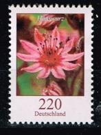 Bund 2018, Michel# 3414 ** Blumen: Hauswurz - BRD
