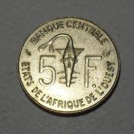 1987 - Afrique De L'Ouest - West African States - BCEAO - 5 FRANCS - KM 2a - Monete