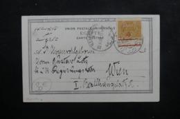 TURQUIE - Affranchissement Plaisant De Alexandrie Sur Carte Postale Pour Wien En 1908 - L 46470 - 1858-1921 Empire Ottoman