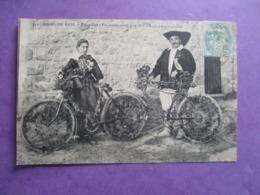 CPA 44 BOURG DE BATZ PALUDIER ET PALUDIERE VENUS A LA FETE A BICYCLETTES FLEURIES - Batz-sur-Mer (Bourg De B.)