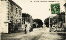 8046 -  Saone Et Loire -  AUTUN  :   LA  CASERNE CHANGARNIER     -    Circulée En 1922 - Autun