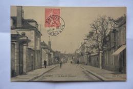 AUXERRE-la Rue De Coulanges- MAUVAIS ETAT(decollement ) - Auxerre