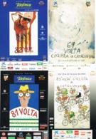 34598. Bonito Lote 12 Postales, Post Card VOLTA CICLISTA CATALUNYA, Barcelona (3 Imagenes) - Cycling