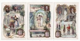 Chromo  LIEBIG   Série Complète De 6 Chromos    Massé, Bizet, Boieldieu, Thomas, Rossini, Auber    Série Avec Dos Vierge - Liebig