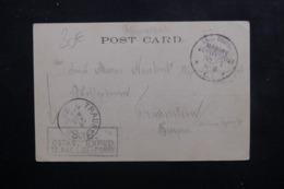 ALLEMAGNE - Carte Postale De Port Saïd Pour L 'Allemagne En Feldpost En 1900, Oblitérations De Marine Au Verso - L 46472 - Germany