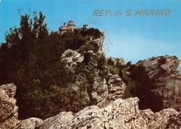 Cartolina Repubblica Di San Marino 1970 Bella Affrancatura - San Marino