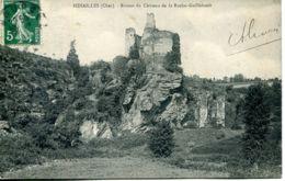 N°76468 -cpa Ruines Du Château De La Roche Guillebault -Sidailles- - Autres Communes