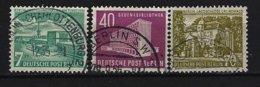BERLIN - Mi-Nr. 121 - 123 Berliner Bauten Gestempelt - Gebraucht