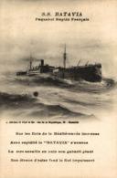SS BATAVIA - Paquebots