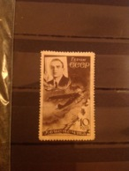 Russia/USSR 1935 Air Chelyuskin Rescue 10k Sepia Mint SG 681 Mi 502 - Unused Stamps