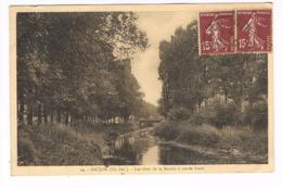 CPA (17) SAUJON. Les Rives De La Sendre à Marée Basse.. (E.960) - Saujon