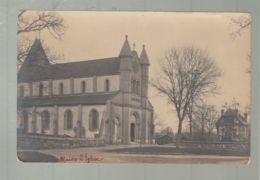 CPA - 27  - Muids   -  Eglise - Carte Photo De 1919 - Muids