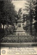 Cp Huy Wallonien Lüttich, La Statue De Pierre L'Ermite A L'ancienne Abbaye De Neufmoustier - Andere
