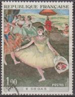 Oeuvres D'art: Peinture - FRANCE - Impressionnisme - Edgar Degas - Danseuse Au Bouquet Saluant - N° 1653 - 1970 - France